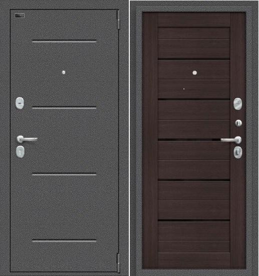 Porta S 104.П22  Антик Серебро/Wenge Veralinga - фото 14817