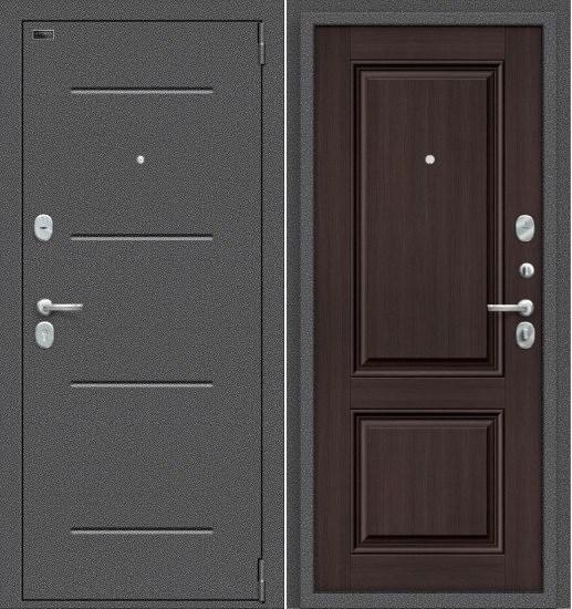 Porta S 104.К32 Антик Серебро/Wenge Veralinga - фото 14864
