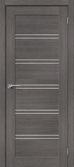 Межкомнатная дверь Порта-28 Grey Veralinga/Magic Fog - фото 15066
