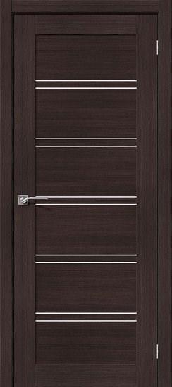 Межкомнатная дверь Порта-28 Wenge Veralinga/Magic Fog - фото 15067