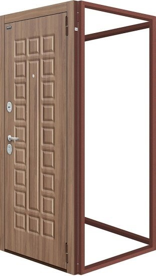 Для 4-х стальных дверей Тип-2  Антик Медь - фото 21051