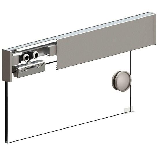 Раздвижная система Herkules Glass 2000 Серебро - фото 21330