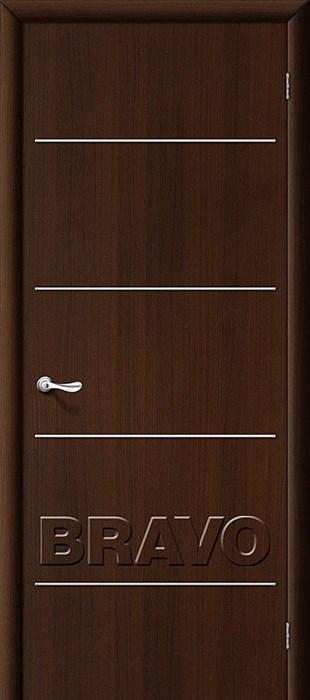 Декор  Л-13 (Венге), Межкомнатные двери Браво, Bravo, ламинированные. - фото 4484