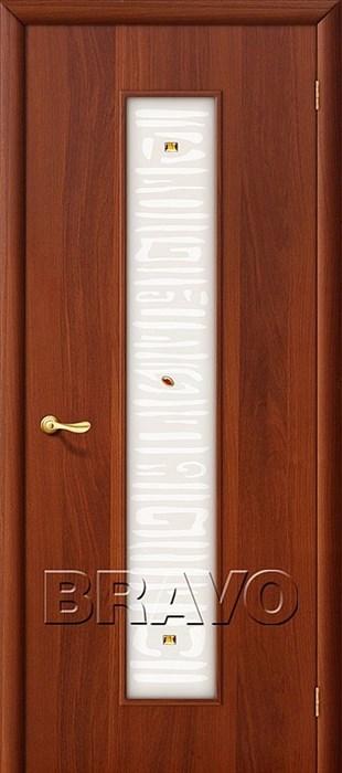 25Х? Л-11 (ИталОрех), Межкомнатные двери Браво, Bravo, ламинированные. - фото 4487