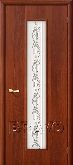 24Х Л-11 (ИталОрех), Межкомнатные двери Браво, Bravo, ламинированные. - фото 4491
