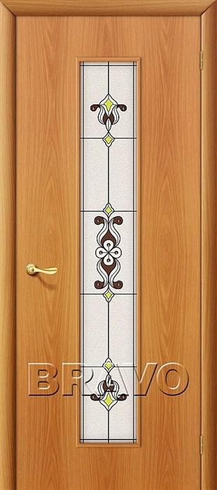 23Х Л-12 (МиланОрех), Межкомнатные двери Браво, Bravo, ламинированные. - фото 4492