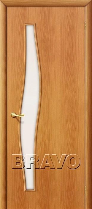 Двери Браво, Bravo, ламинированные,Межкомнатные, 6С Л-12 (МиланОрех) - фото 4528