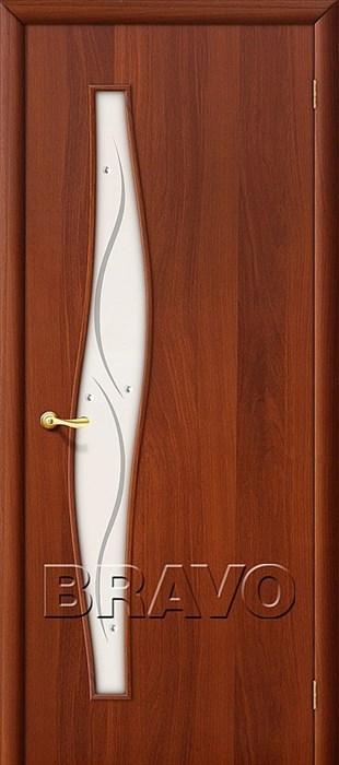 Двери Браво, Bravo, ламинированные,Межкомнатные, 6Ф Л-11 (ИталОрех) - фото 4531