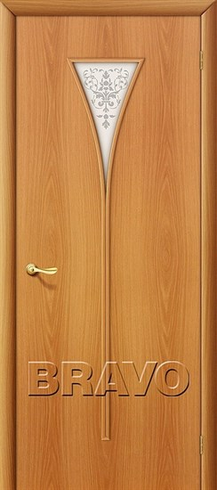 Межкомнатные Двери Браво, Bravo, ламинированные, 3Х Л-12 (МиланОрех) - фото 4549