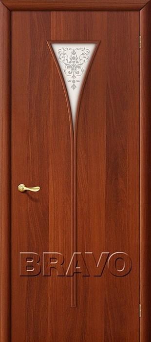 Межкомнатные Двери Браво, Bravo, ламинированные, 3Х Л-11 (ИталОрех) - фото 4550