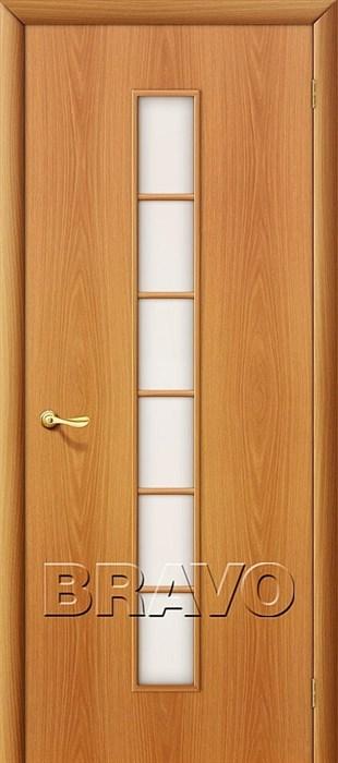 Межкомнатные Двери Браво, Bravo, ламинированные, 2С Л-12 (МиланОрех) - фото 4555