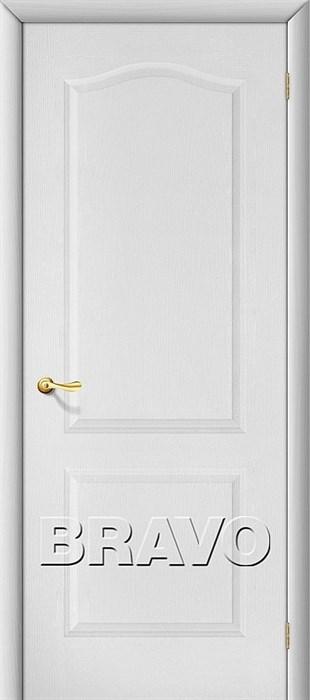 Межкомнатные Двери, Браво, Bravo, ламинированные, Палитра Л-23 (Белый) - фото 4570