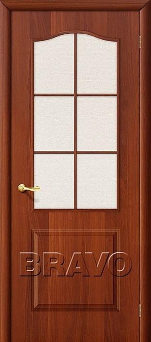 Межкомнатные Двери, Браво, Bravo, ламинированные, Палитра Л-11 (ИталОрех)/ст - фото 4572