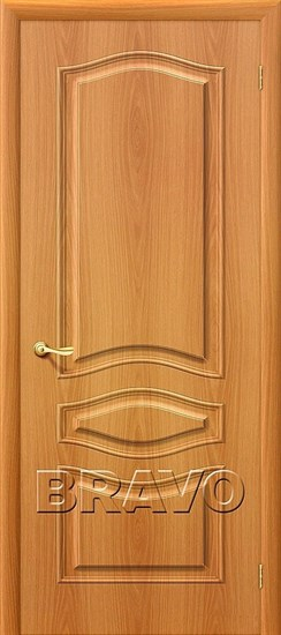 Межкомнатная дверь ПВХ, Браво,Bravo, Модена П-12 (МиланОрех) - фото 4578