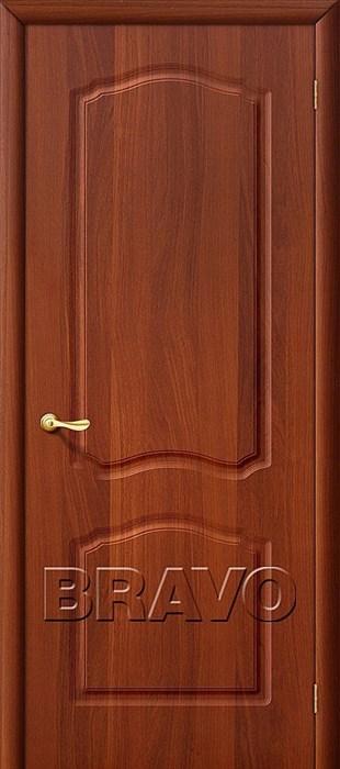 Лидия П-11 (ИталОрех), Межкомнатная дверь ПВХ, Браво,Bravo - фото 4580