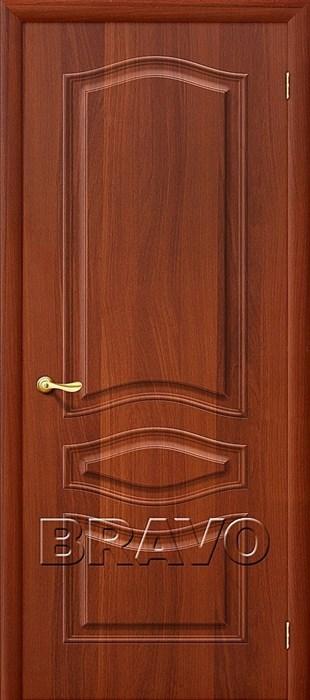 Модена П-11 (ИталОрех), Межкомнатная дверь ПВХ, Браво,Bravo - фото 4581