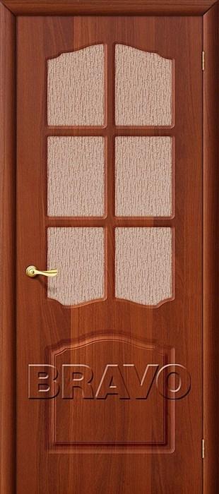 Межкомнатная дверь ПВХ, Браво,Bravo,Лидия П-11 (ИталОрех)/ст - фото 4582