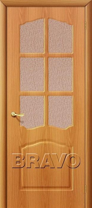 Дверь Лидия П-12 (МиланОрех)/ст - фото 4584