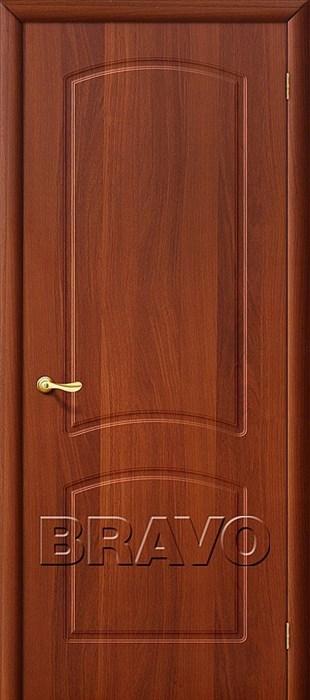 Кэролл  П-11 (ИталОрех), Межкомнатная дверь ПВХ, Браво,Bravo - фото 4594