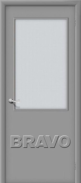 Межкомнатная дверь Гост ПО-2 Л-16 (Серый) - фото 4633