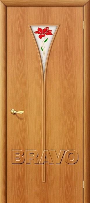 Межкомнатные Двери, Браво, Bravo, ламинированные, 3П Л-12 (МиланОрех) - фото 4639