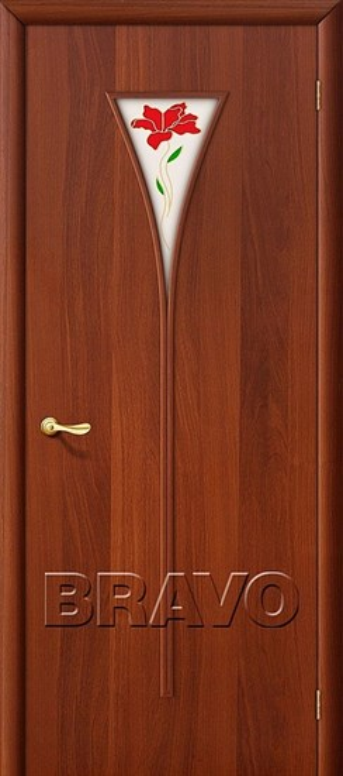 Межкомнатные Двери, Браво, Bravo, ламинированные, 3П Л-11 (ИталОрех) - фото 4640