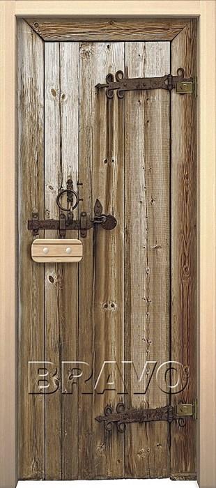 """Дверь в сауну Дерево """"Glassjet"""" - фото 4646"""