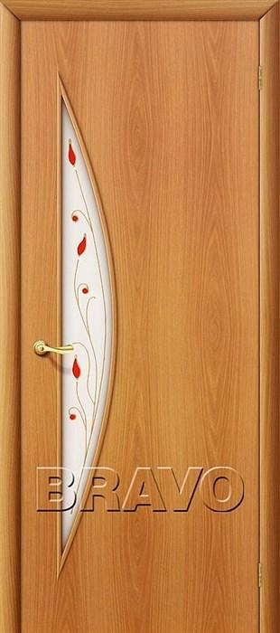 Межкомнатные Двери, Браво, Bravo, ламинированные, 5П Л-12 (МиланОрех) - фото 4680