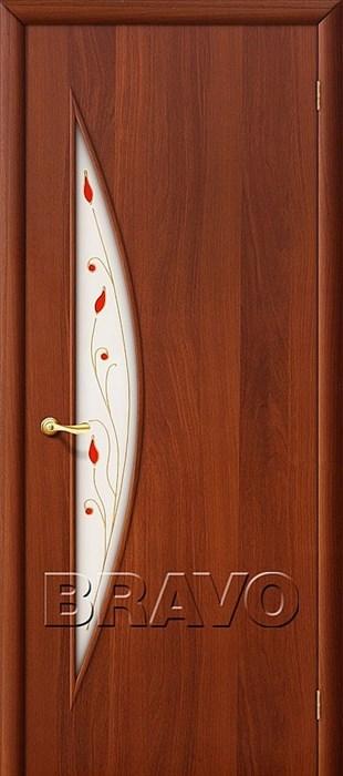 Межкомнатные Двери, Браво, Bravo, ламинированные, 5П Л-11 (ИталОрех) - фото 4681
