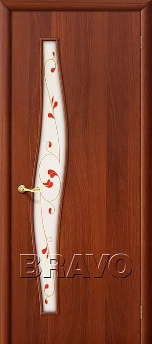 Межкомнатные Двери, Браво, Bravo, ламинированные, 6П Л-11 (ИталОрех) - фото 4683