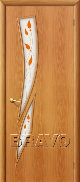 Межкомнатные Двери, Браво, Bravo, ламинированные, 8П Л-12 (МиланОрех) - фото 4685