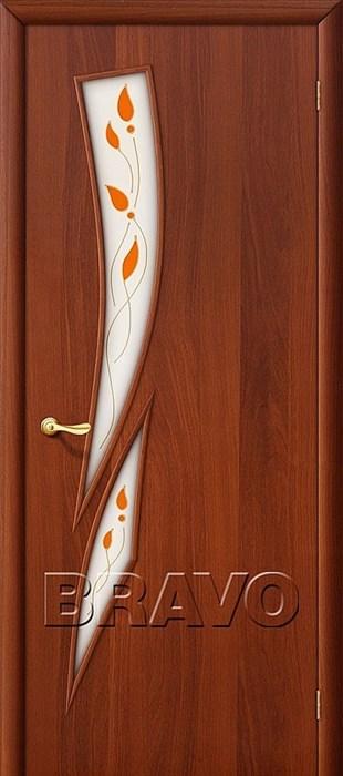 Межкомнатные Двери, Браво, Bravo, ламинированные, 8П Л-11 (ИталОрех) - фото 4686