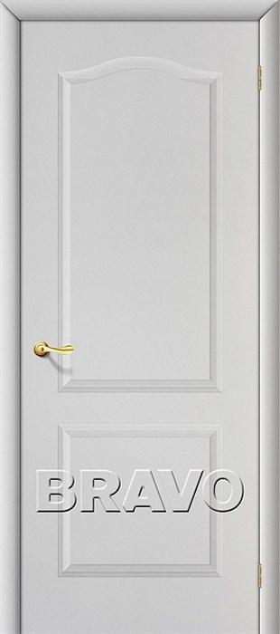 Межкомнатная дверь Классик Белый Грунт - фото 4703