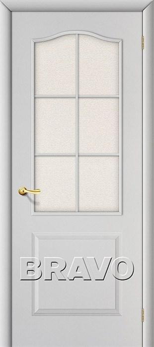 Межкомнатная дверь Классик Белый Грунт/ст - фото 4704