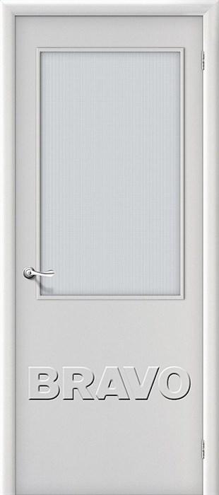 Межкомнатная дверь Гост ПО-2 Л-23 (Белый) - фото 4710