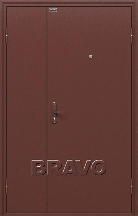 Двери Браво Оптим Дуо Слим Антик Медь, дверь входная металлическая , (Браво, Bravo) - фото 4834
