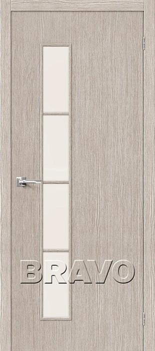 Двери Тренд-4 3D Cappuccino  СТ-Magic Fog, Межкомнатные Двери ,Браво, Bravo. - фото 4921