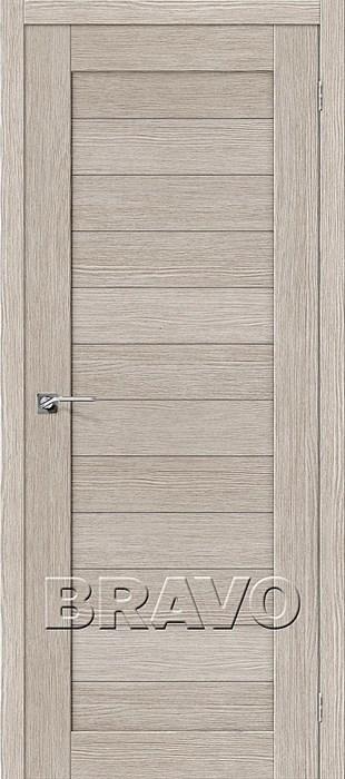 Двери Порта-21 3D Cappuccino, Межкомнатные двери Браво, Bravo. - фото 4929