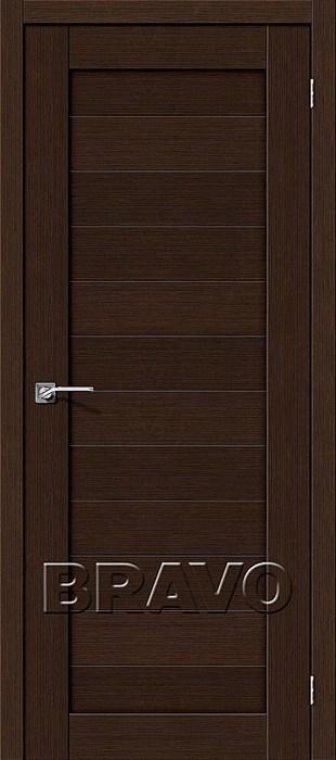 Двери Порта-21 3D Wenge, Межкомнатные двери Браво, Bravo. - фото 4930