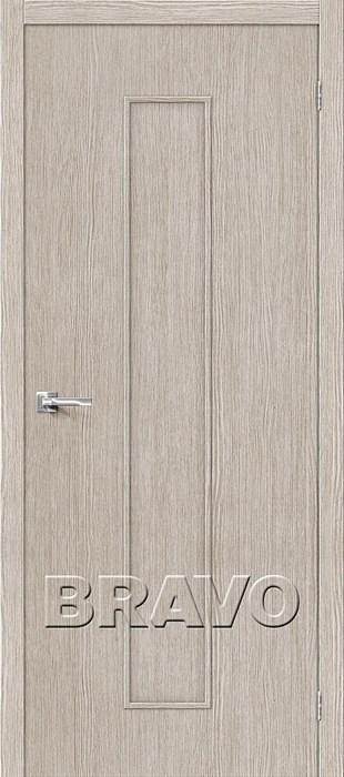 Двери Тренд-13 3D Cappuccino, Межкомнатные Двери ,Браво, Bravo. - фото 4995