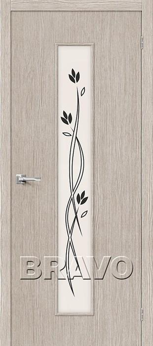 Двери Тренд-14 3D Cappuccino СТ-Etude, Межкомнатные Двери ,Браво, Bravo. - фото 4997