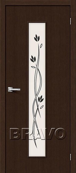 Двери Тренд-14 3D Wenge СТ-Etude , Межкомнатные Двери ,Браво, Bravo. - фото 4998
