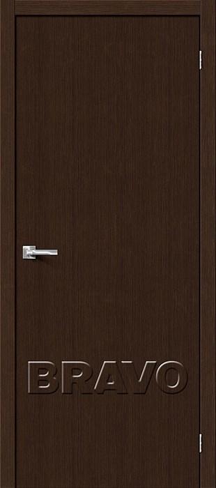 Двери Тренд-0 3D Wenge, Межкомнатные Двери ,Браво, Bravo. - фото 5049