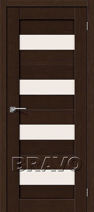 Двери Порта-23 3D Wenge, Межкомнатные двери Браво, Bravo. - фото 5066