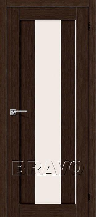 Двери Порта-25 alu 3D Wenge, Межкомнатные двери Браво, Bravo. - фото 5272