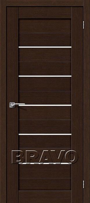 Двери Порта-22 3D Wenge, Межкомнатные двери Браво, Bravo. - фото 5275