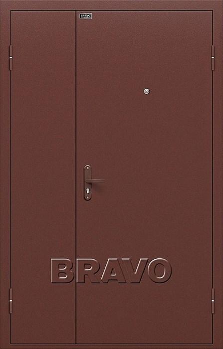 Двери Браво Оптим Дуо Гранд Антик Медь, дверь входная металлическая, (Браво, Bravo) - фото 5319