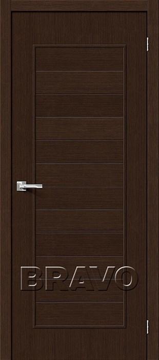 Двери Тренд-21 3D Wenge, Межкомнатные Двери ,Браво, Bravo. - фото 5335
