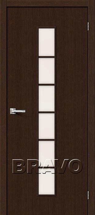 Двери Тренд-12 3D Wenge СТ-Magic Fog, Межкомнатные Двери ,Браво, Bravo. - фото 5351