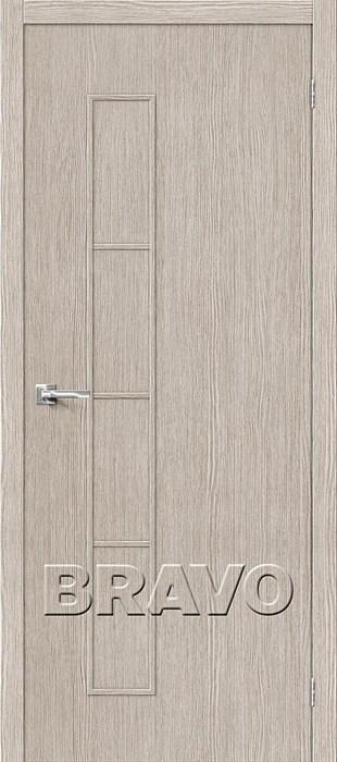 Двери Тренд-3 3D  Cappuccino, Межкомнатные Двери ,Браво, Bravo. - фото 5384